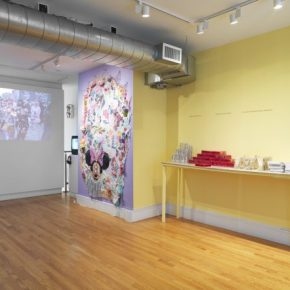 Politics of Hanging Out: 'Love Action Art Lounge' At Franklin StreetWorks