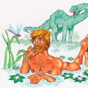 "Daddy Camp: Merging Beauty and Camp In Mike Kuchar's ""Drawings By Mike!"""