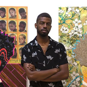 You're Invited To: Devan Shimoyama In Conversation With Emily Colucci At De Buck Gallery