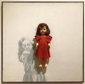 Why Is Everyone Sleeping On Adrian Piper's Teenage Doll Paintings?