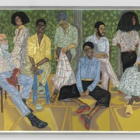 "I've Got Loyalty, Got Royalty Inside My DNA: Toyin Ojih Odutola's ""When Legends Die"""