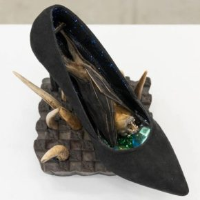 "Shoe Fetish: Genesis Breyer P-Orridge's ""TOWARDS AN END TO BIOLOGICAL PERCEPTION"""