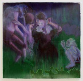 Brett Kavanaugh as a Mythological Embodiment of White Man Whining: The Paintings of SedrickChisom